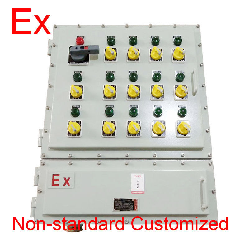 Cast Aluminum Explosion Proof Local Control Panel For Oil Drilling Platforms IP65