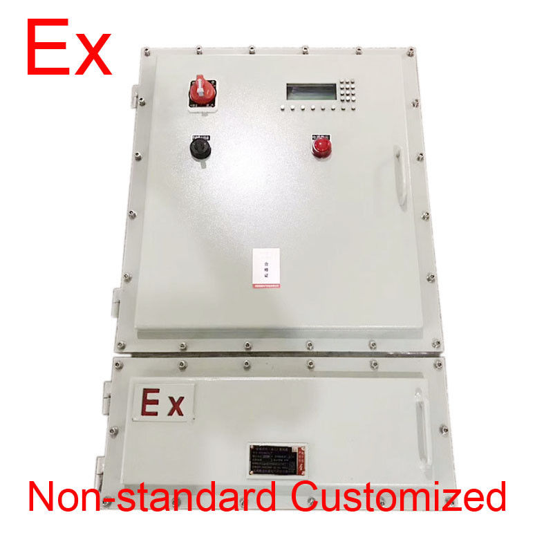 Custom IP65 Explosion Proof Panel / Power Distribution Box With Cast Aluminum
