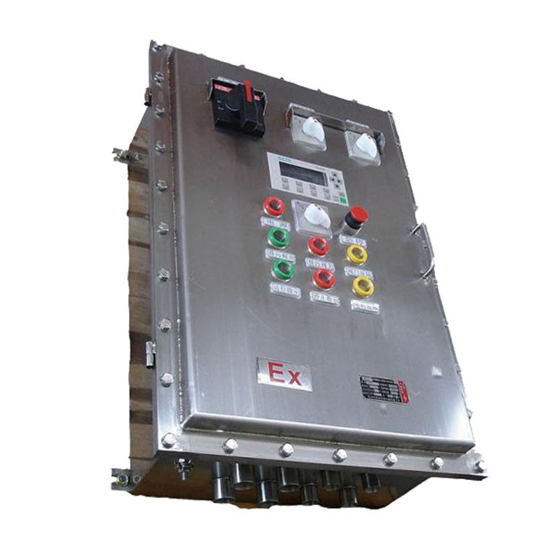 Stainless Steel Explosion Proof Control Box , Anti - Corrosion Push Button Box