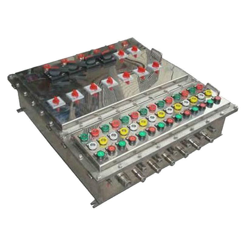 Stainless Steel Explosion Proof Panel , Anti Corrosion Explosion Proof Control Panel