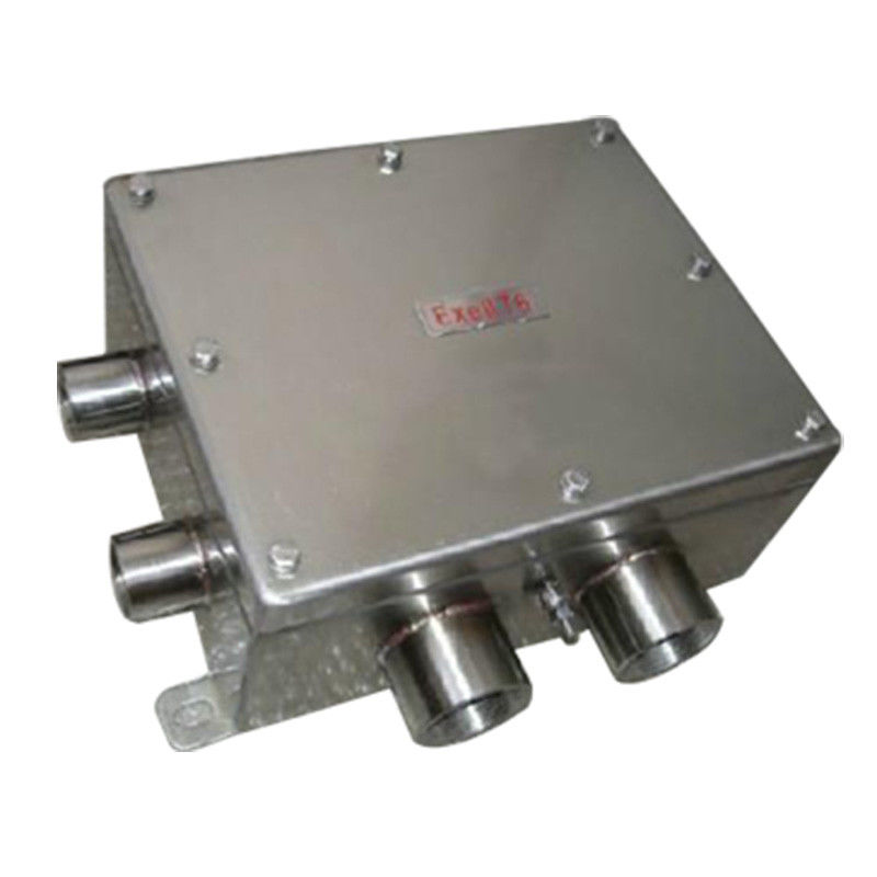 Anti Corrosive Explosion Proof Junction Box , Stainless Steel Cable Pull Box